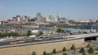 HD Video Interstate and Downtown Denver Skyline Colorado video