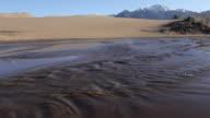 HD Video Medano Creek in Great Sand Dunes NP video