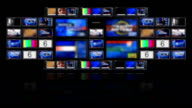 Video Monitors Wall video