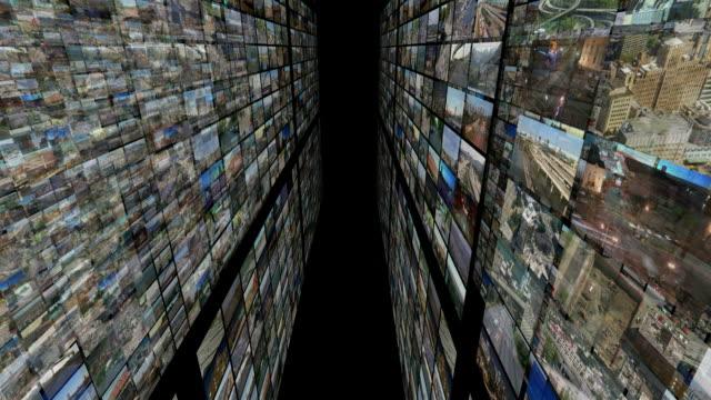 Video Montage 3D (black) video