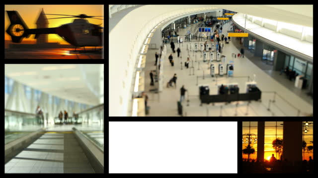 Video Montage Air Travel video
