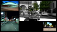 Video Montage City Driving video