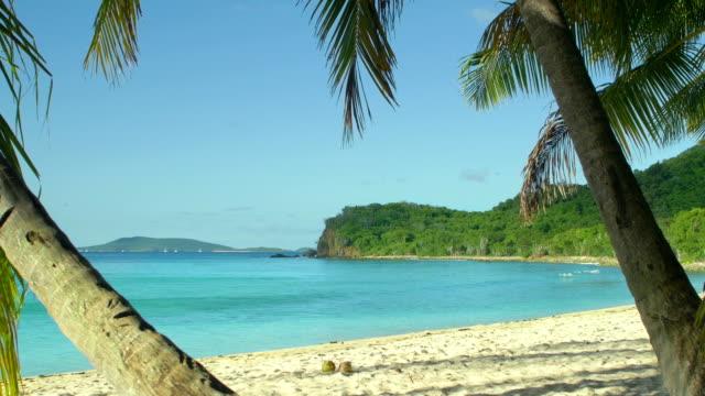 video of a beach at Smuggler's Cove, Tortola, BVI video