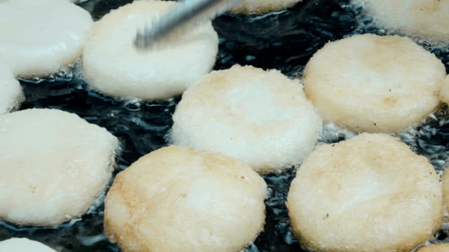 video of a cooking  Street Food In China Town, Bangkok. video