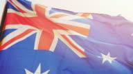 Video of Australian Flag in 4K video