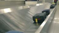 Video of baggage carousel in 4K video