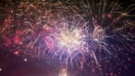 Video of fireworks in 4K video