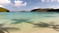 video of Maho Bay Beach, St.John, US Virgin Islands video