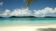 video of Salomon Bay Beach, St.John, US Virgin Islands video