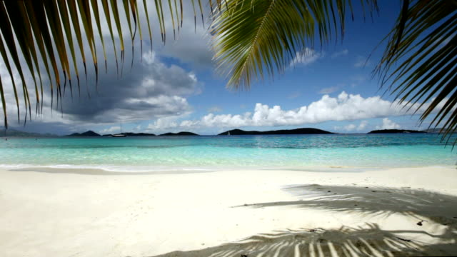 video of Salomon Bay Beach, St.John, US Virgin Islands video