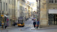 Video of tram in Lisbon in 4K video