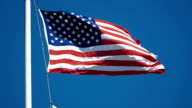 Video of Waving Flag - U.S.A in slow motion video