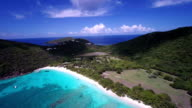 video of White Bay Beach, Guana Island, British Virgin Islands video