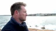 Video portrait of a mature man video