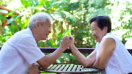 Video secret of lasting love. Asian senior comply, give in to each other in life video