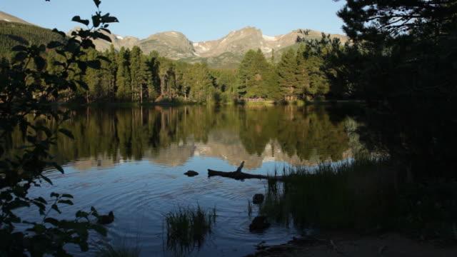 HD Video Sprague Lake and Rocky Mountain National Park Colorado video