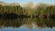 HD Video Sprague Lake ducks Rocky Mountain National Park Colorado video