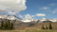 HD video storm time lapse over San Juan Mountains video
