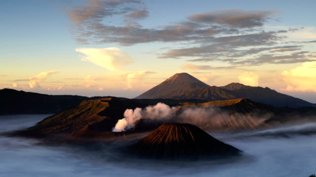 4K Video : Sunrise at Bromo Mountain video