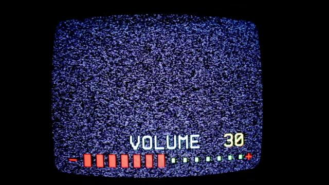 video - Television Volume control video