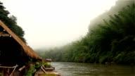 HD Video: The Kwai River, Thailand video
