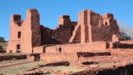 HD video visitor admires Salinas Pueblo Missions National Monument video