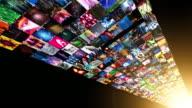 Video Wall Media Stream (HD + matte) video