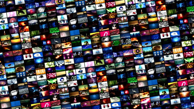Video Wall Montage (Loop) video
