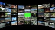 Video Wall Transportation Media 1 (black) video