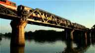 HD Video With Sound:The Bridge over the River Kwai, Thailand video
