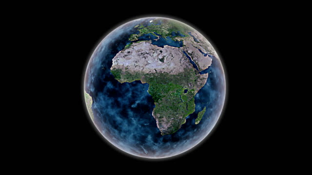 video world earth rotate elements of this image furnished by NASA video