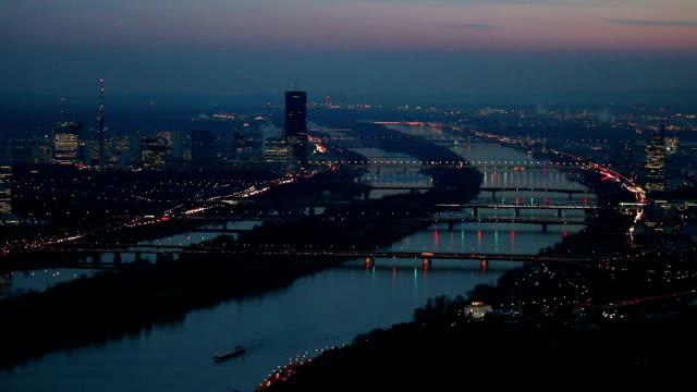 Vienna at night video