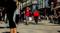 Vienna Pedestrian Zone Mariahilferstraße // 4k Timelapse video