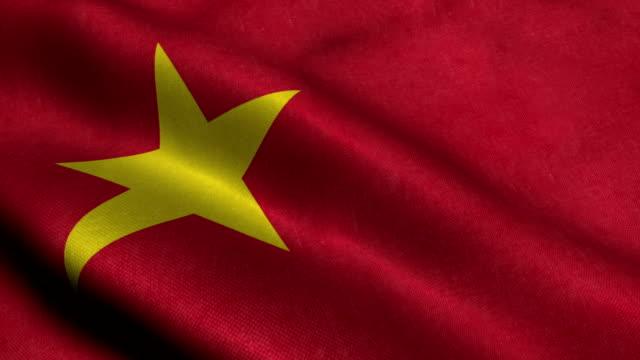 Vietnam Flag video