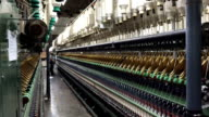 Vietnamese Textile Factory Interior video