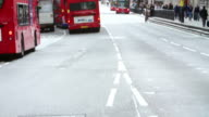 View Along Whitehall Looking Towards Big Ben In London video