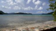 View from Annaberg Ruins, St John, Virgin Islands video