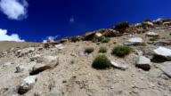 view from car dangerous mountain pass video