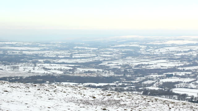 View from Foel Drygan Fort, Wales video