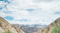 View From Hemis Monastery In Leh Village, Ladakh, India video