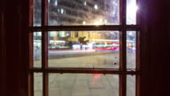 View From Inside London Phone Box - Time Lapse video