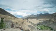 View From Lamayuru Monastery in Leh, Ladakh Region, India video