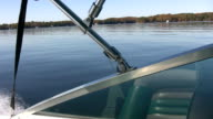 View from motorboat. video