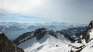 View from Mount Pilatus video