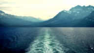 View From Ship To Mountains video