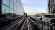 View From the Singapore Airport Driverless Train video