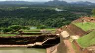 View From The Top of Sigiriya, Sri Lanka video
