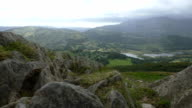 View from top of mountain video