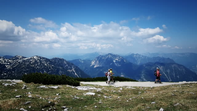 View Obertraun at Austrian Alps. video