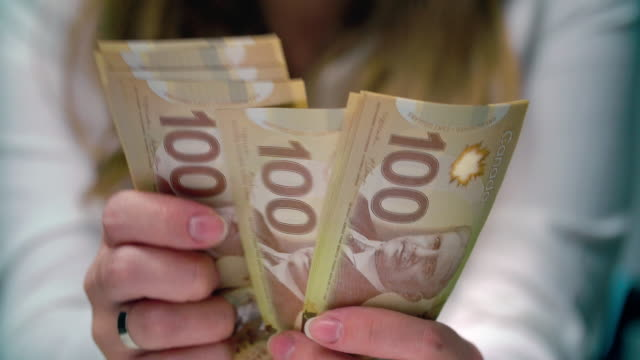 Image result for counting canadian money